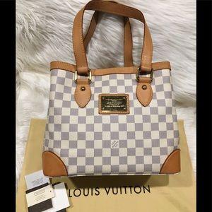 Louis Vuitton Damier Azur Hampstead PM